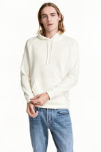 Hooded top - White - Men | H&M 1