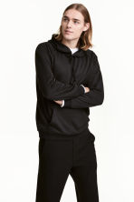 Hooded top - Black - Men | H&M CN 1