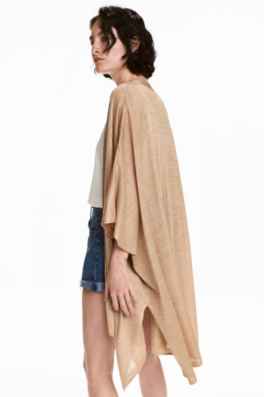 Cardigan glitter - Beige - DONNA | H&M IT