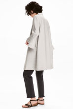 Short coat - Light grey marl - Ladies | H&M CA 1