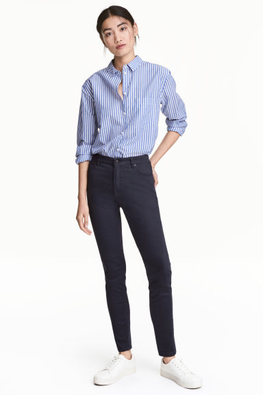 Superstretch trousers - Dark blue - Ladies | H&M IE