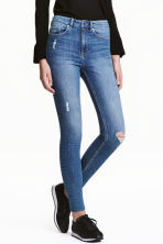 Skinny High Ankle Jeans - Denim blue - Ladies | H&M CN 1