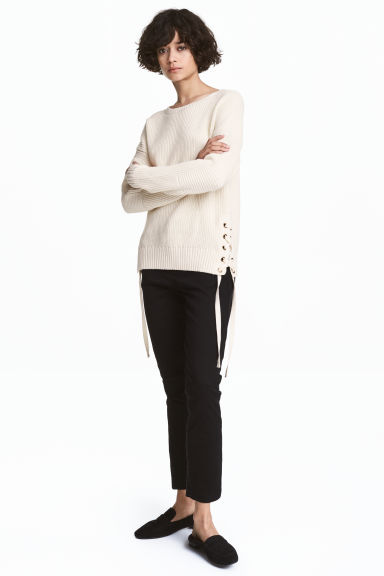 Skinny chinos - Black - Ladies | H&M 1
