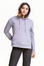 Hooded top - Purple - Ladies | H&M 1