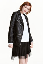 Biker jacket - Black - Ladies | H&M CN 1