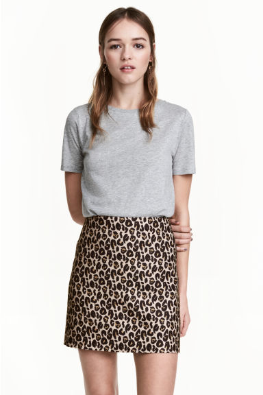 Gonna corta - Leopardato - DONNA | H&M IT 1