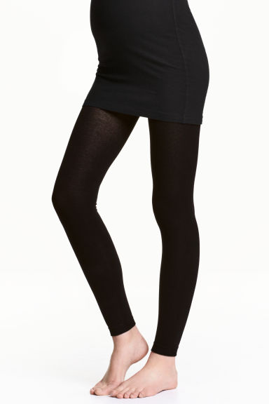 MAMA 2-pack leggings - Black - Ladies | H&M CN