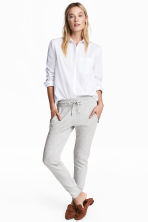 Joggers - Light grey marl - Ladies | H&M CN 1