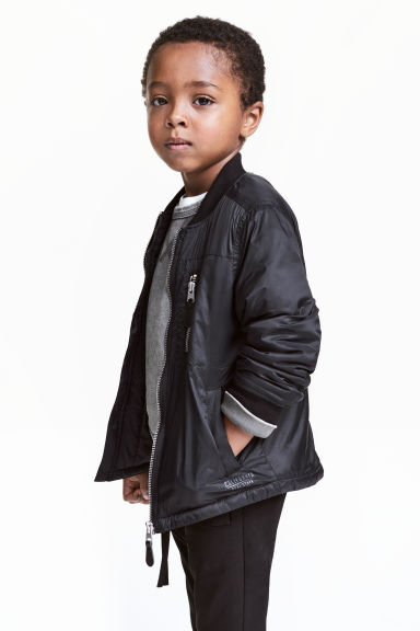 Padded jacket - Black - Kids | H&M