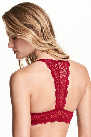 Super push-up bra - Red - Ladies | H&M CN 1