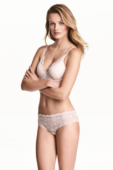 Lace hipster briefs - White - Ladies | H&M CN 1