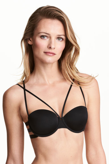 Balconette bra - Black - Ladies | H&M CN 1