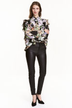 Leather trousers - Black - Ladies | H&M 2