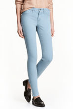 Skinny Regular Ankle Jeans - Light denim blue - Ladies | H&M 1