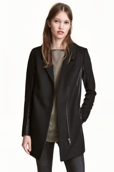 Short coat - Black - Ladies | H&M 1