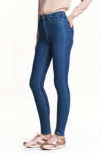 Super Skinny High Jeans - 牛仔蓝 - 女士 | H&M CN 1