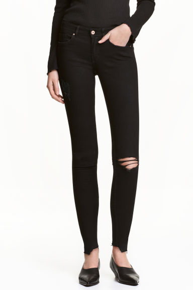 Super Skinny Ankle Jeans - Denim nero - DONNA | H&M IT 1