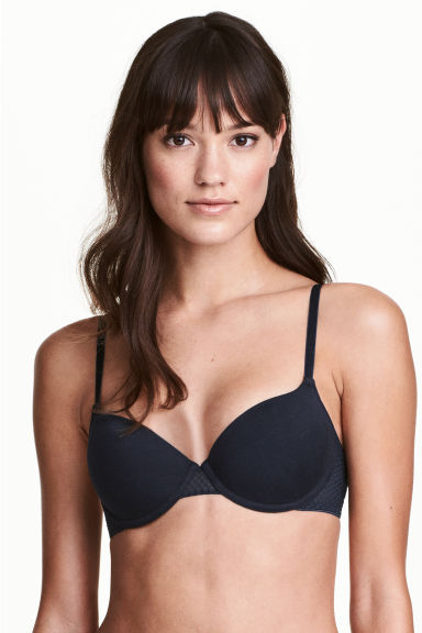 Reggiseni push-up, 2 pz - Blu scuro/rosa - DONNA | H&M IT 1