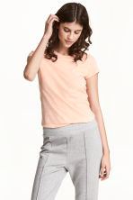 Jersey top - Light apricot - Ladies | H&M CN 1