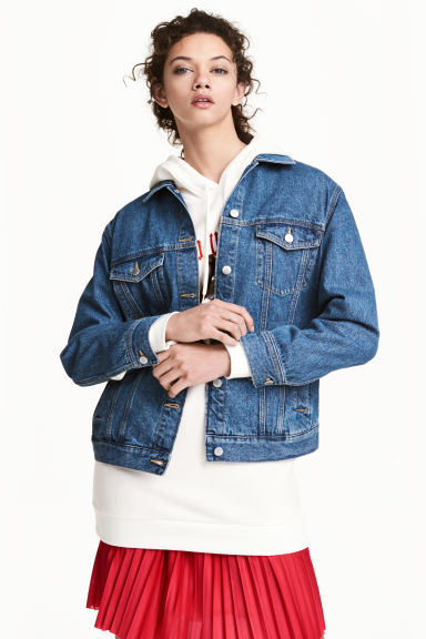 Jachetă din denim Model