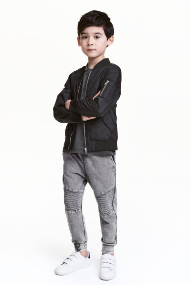 Pantalon jogger délavé - Gris washed out -  | H&M FR 1