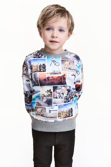 Sweat - Impression photo - ENFANT | H&M FR 1