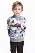Sweatshirt - Photoprint - Kids | H&M CN 1