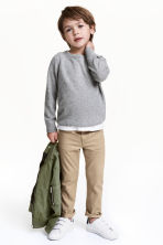 Twill trousers Regular fit - Beige - Kids | H&M CN 1