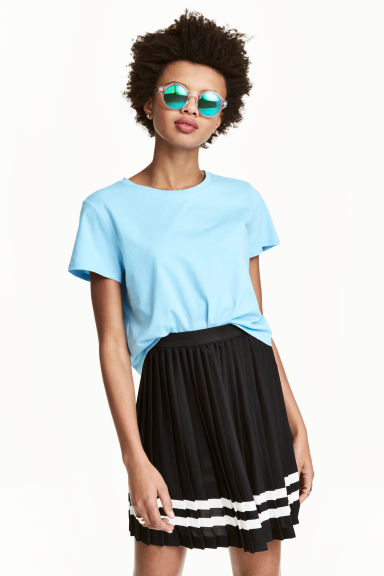 T-shirt ample - Turquoise - FEMME | H&M FR