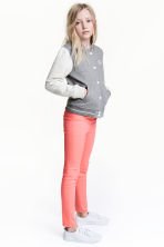 Stretch trousers - Coral pink - Kids | H&M 1