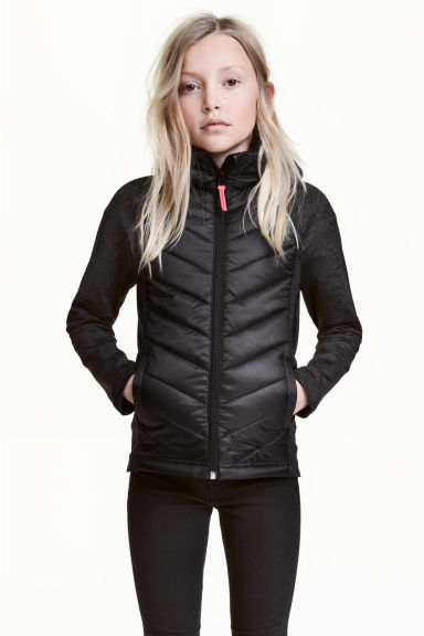Padded lightweight jacket Model