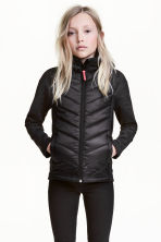 Padded lightweight jacket - Black - Kids | H&M 1