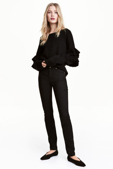 Petite fit Trousers - Black - Ladies | H&M CN
