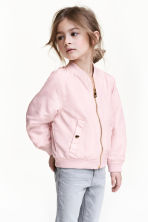Bomber jacket - Light pink - Kids | H&M 1