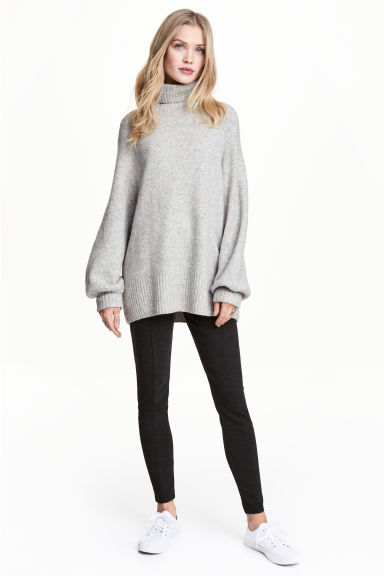 Leggings - Dark grey marl - Ladies | H&M 1