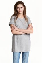 Long T-shirt - Grey -  | H&M 1