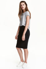 Jersey skirt - Black - Ladies | H&M 1