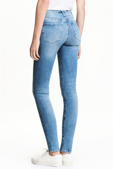 Shaping Skinny Regular Jeans - Denimblauw -  | H&M BE 1