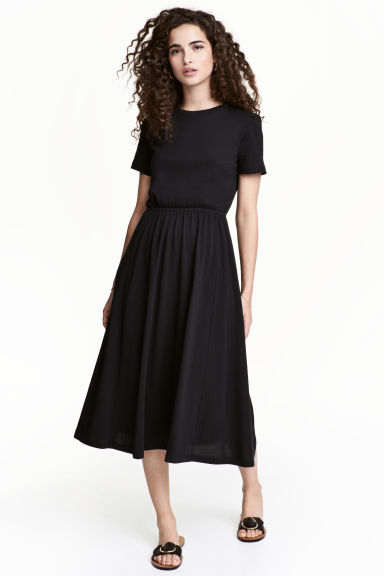 Jersey dress - Black - Ladies | H&M 1