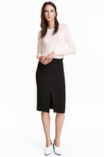 Pencil skirt - Black -  | H&M CN 1