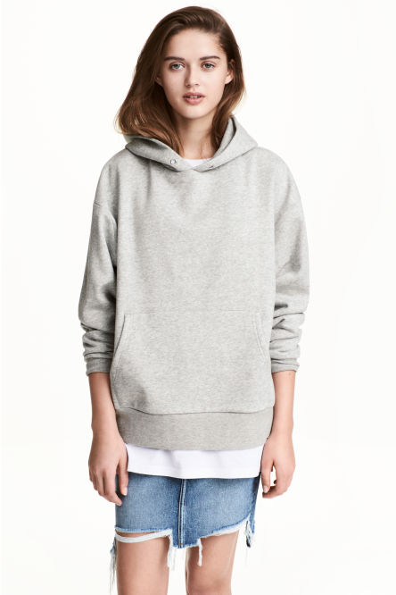Sweat-shirt à capuche oversize