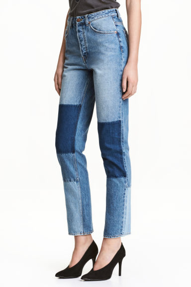 Loose fit Regular Jeans - Albastru-denim - FEMEI | H&M RO 1