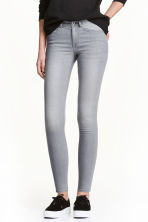 Super Skinny Regular Jeans - Grey - Ladies | H&M CN 1