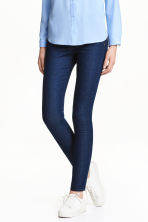 Stretch trousers - Dark denim blue - Ladies | H&M GB 1
