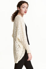 Lace cardigan - Natural white - Ladies | H&M 2