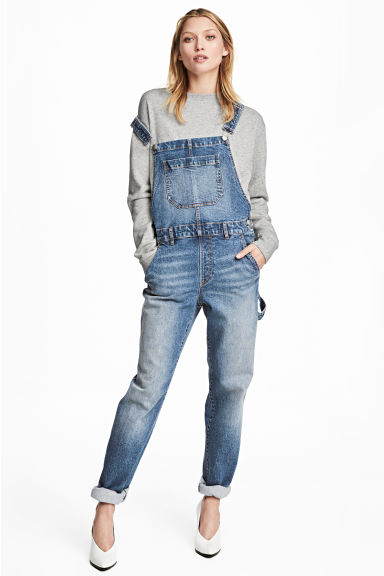 Dungarees - Denim blue - Ladies | H&M 1