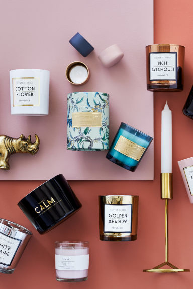 Bougie parfumée - Rose clair/Tulip - Home All | H&M FR 1