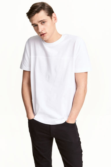 T-shirt - White - Men | H&M 1