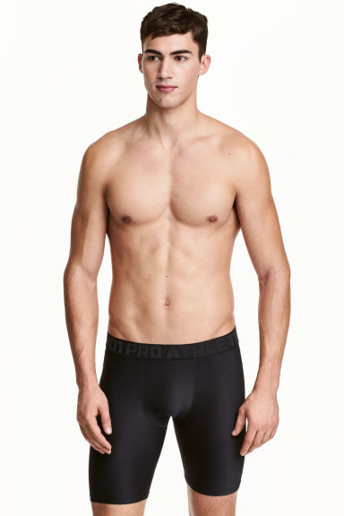 Sports boxer shorts - Black - Men | H&M 1
