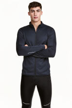 Giacca da running - Blu scuro - UOMO | H&M IT 2
